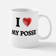 I Love My Posse Mugs