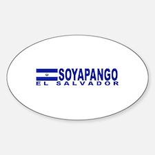 Soyapango, El Salvador Oval Decal