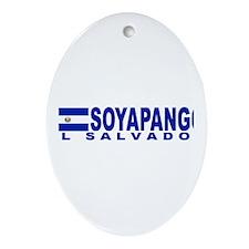 Soyapango, El Salvador Oval Ornament