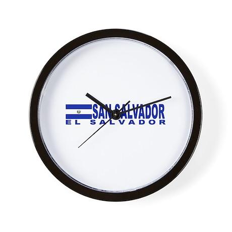 San Salvador, El Salvador Wall Clock