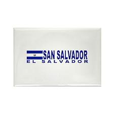 San Salvador, El Salvador Rectangle Magnet