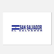 San Salvador, El Salvador Postcards (Package of 8)