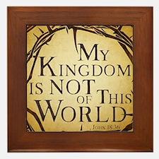 Not of This World Framed Tile