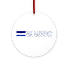 San Salvador, El Salvador Ornament (Round)