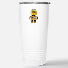 Surprised toy robot Stainless Steel Travel Mug