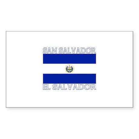 San Salvador, El Salvador Rectangle Sticker