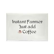 Instant Farmer Rectangle Magnet (100 pack)