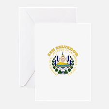 San Salvador, El Salvador Greeting Cards (Pk of 10