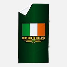 Flag of Ireland Beach Towel