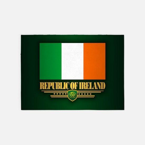 Flag of Ireland 5'x7'Area Rug
