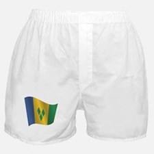 Saint Vincent and the Grenadines flag Boxer Shorts