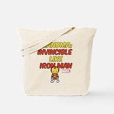 Invincible Grandma Tote Bag