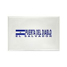 Puerta Del Diablo, El Salvado Rectangle Magnet