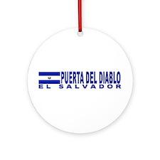 Puerta Del Diablo, El Salvado Ornament (Round)