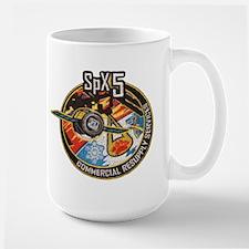 SpX-5 Logo Mug