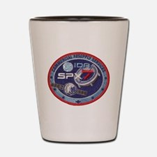 SpX-7 Logo Shot Glass