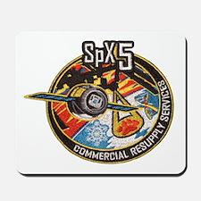 SpX-5 Logo Mousepad