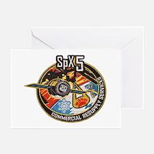 SpX-5 Logo Greeting Cards (Pk of 10)