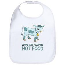 Cows Are Friends Bib