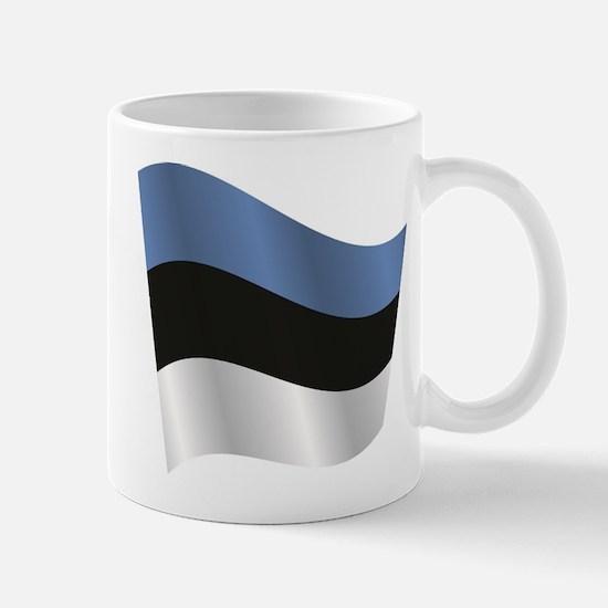 Estonia flag Mugs
