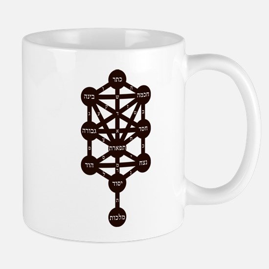 Kabbalah Judaism Tradition Hebrew Alphabet Vi Mugs