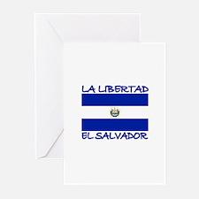 La Libertad, El Salvador Greeting Cards (Pk of 10)