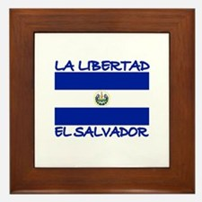 La Libertad, El Salvador Framed Tile