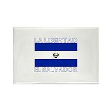 La Libertad, El Salvador Rectangle Magnet