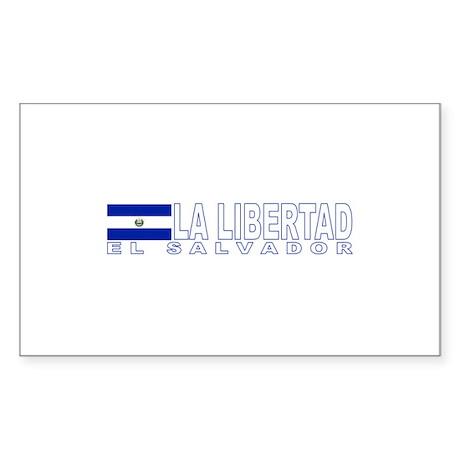 La Libertad, El Salvador Rectangle Sticker