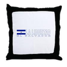 La Libertad, El Salvador Throw Pillow