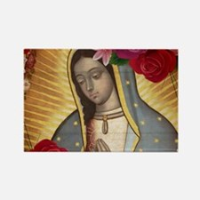 Virgin of Guadalupe with Roses Magnets