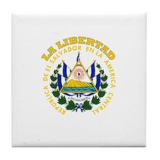 La Libertad, El Salvador Tile Coaster