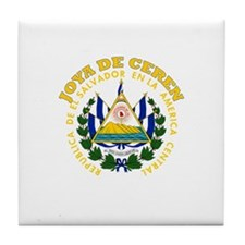 Joya de Ceren, El Salvador Tile Coaster
