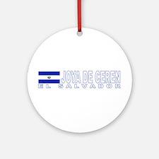 Joya de Ceren, El Salvador Ornament (Round)