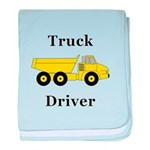 Truck Driver baby blanket