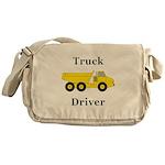 Truck Driver Messenger Bag