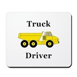 Truck Driver Mousepad