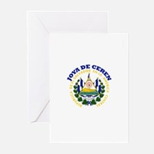 Joya de Ceren, El Salvador Greeting Cards (Pk of 1