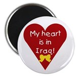 My Heart is in Iraq Magnet