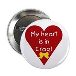 My Heart is in Iraq Button
