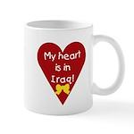 My Heart is in Iraq Mug
