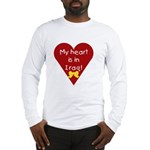 My Heart is in Iraq Long Sleeve T-Shirt