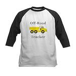 Off Road Trucker Kids Baseball Jersey
