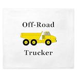 Off Road Trucker King Duvet
