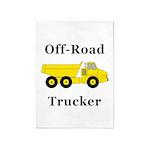 Off Road Trucker 5'x7'Area Rug