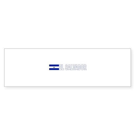 El Salvador Bumper Sticker