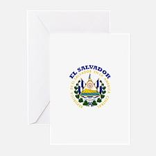 El Salvador Greeting Cards (Pk of 10)