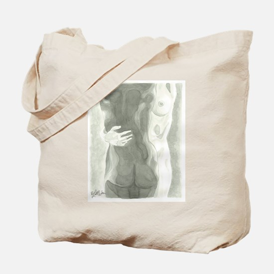 Nude Women Tote Bag