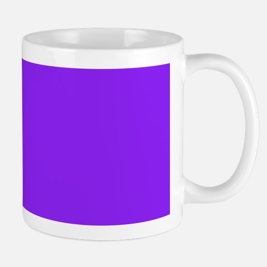 Neon Purple Solid Color Mugs
