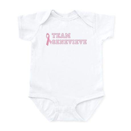 Team Genevieve - bc awareness Infant Bodysuit
